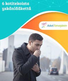 6 kotitekoista yskänlääkettä   Yskän #aiheuttaa usein #flunssa tai nuha, jolloin limaa kertyy #keuhkoihin.  #Luontaishoidot