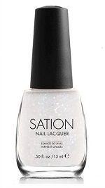 Sation Shyest Shade Glitter Nail Polish 9036