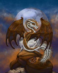 #DragonArt #FantasyArt #DragonPosters #FantasyPosters #CoconutDragon