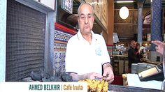 Vídeo: Ahmed vino de Melilla con la receta de pinchos de su padre y lleva 20 años haciendo pinchos morunos en el Café Iruña de Bilbao.