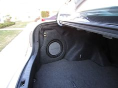 DIY Trunk Corner Subwoofer box - Toyota Nation Forum : Toyota Car and Truck Forums