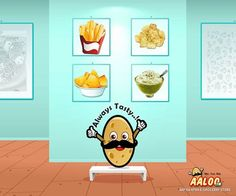What is #Aaloo? : A veggie which does not change when sliced, diced, mashed or fried.. Always #Tasty