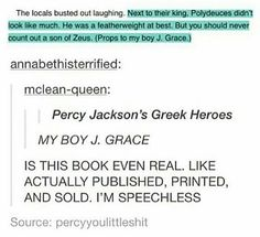 YES!! I HAVE THIS AND PERCY JACKSONS GREEK GODS, AND BOTH ARE HILARIOUS