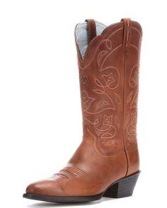 Women's Heritage Western R Toe Boot - Russet Rebel