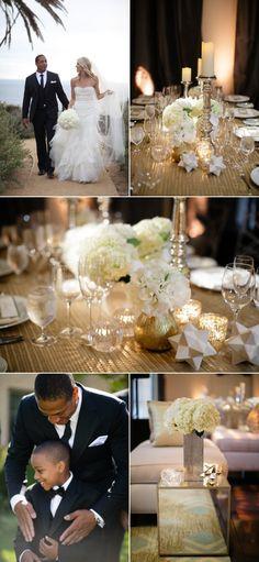 Terranea Wedding from Jasmine Star + Sterling Social + R.Jack Balthazar | Style Me Pretty