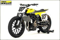 Yamaha DT-07 Flat Tracker Concept by Jeff Palhegyi Design #motorcycles #flattracker #motos   caferacerpasion.com