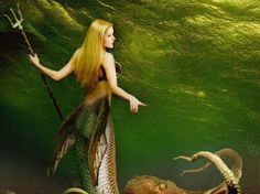 Lagoon mermaid