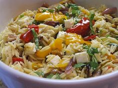 The Recipe Girl: Ina Gartens Orzo with Roasted Vegetables