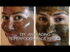 Superfoods can make your skin radiant and healthy. Try DIY recipes that your skin will love! My Tribe We all know superfoods are great of our health b. Banana Face Mask, Acne Face Mask, Face Wrinkles, Face Masks, Best Face Serum, Best Face Mask, Glycerin Face, Anti Aging Face Mask, Mask For Dry Skin