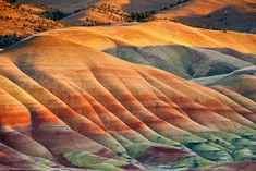 Painted Hills, Oregon, U.S.A.
