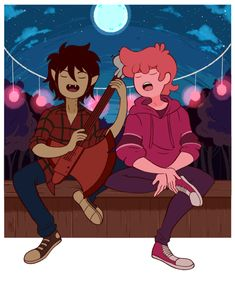 adventure time marshall lee x prince gumball Marshall Lee X Prince Gumball, Art Adventure Time, Marshall Lee Adventure Time, Adveture Time, Character Art, Character Design, Marceline And Princess Bubblegum, Jake The Dogs, Bubbline