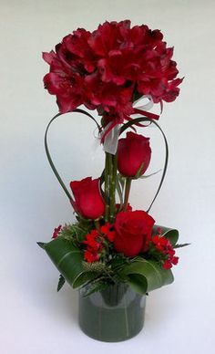 Cool Top Valentine Floral Arrangements Ideas For Home Decoration
