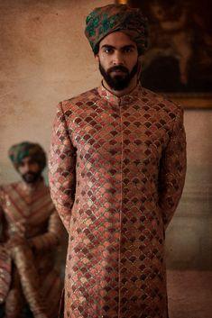 Sherwani For Men Wedding, Wedding Dresses Men Indian, Wedding Outfits For Groom, Sherwani Groom, Wedding Dress Men, Blue Sherwani, Wedding Prep, Indian Weddings, India