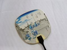 Vintage Paper Paddle Fan by LkcDesign on Etsy, $5.50