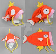 Slouchy Magikarp Hat by SewDesuNe.deviantart.com on @DeviantArt