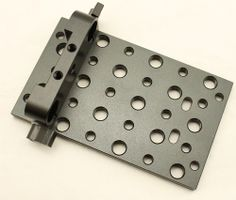 Tripod Mounting Accessory Cheese Plate Rail Block Fo 15mm Rod Clamp Follow Focus £14.09