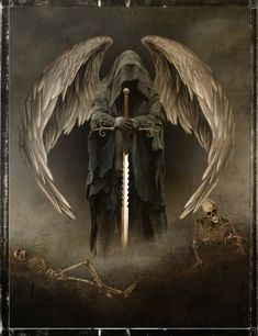 angel of death by richmel1 on DeviantArt