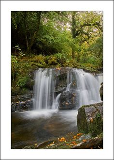 Ireland, Kerry, Killarney National Park, Torc Waterfall