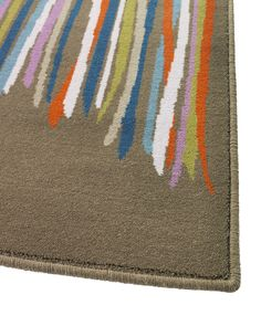 Put colour beneath your feet with a bright rug such as this from our MALIN TRÅD collection.