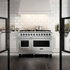A unique view that aims to showcase this superb Viking range. The herringbone flooring, made entirely in demonstrates our photorealistic skills. Viking Range, Herringbone, 3 D, Kitchen Design, Kitchen Appliances, Design Inspiration, Flooring, Unique, Home