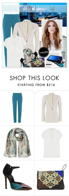 """CASUAL - City Style"" by alves-nogueira ❤ liked on Polyvore featuring Etro, Chopard and polyvoreeditorial"