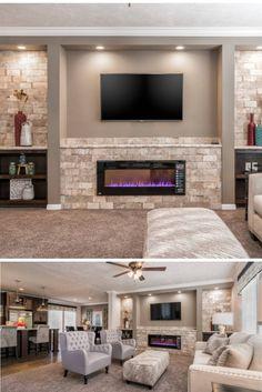 Double Wide Home, New Homes, The Unit, Entertainment, Tours, 3d, Living Room, Detail, Building