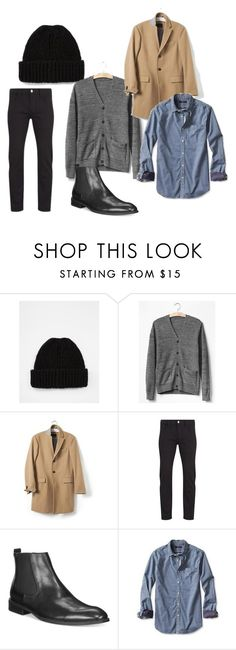 """casual black jeans and chelsea boots men"" by lo-larsen on Polyvore featuring ASOS, Gap, Banana Republic, Paul Smith and Alfani"