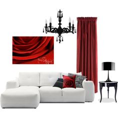 """""""Romantic Living Room"""" by crystalgaylephotography on Polyvore"""