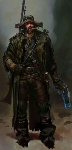 Techno-Wizard Gunfighter