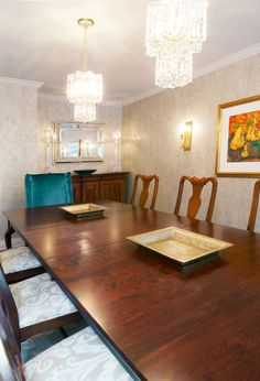 Sumptuous Inviting Dining Room