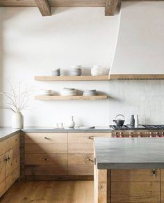 Modern Home Decor Rustic and Scandinavian styles rolled into one in the minimal kitchen [From: Pearson Design Group].Modern Home Decor Rustic and Scandinavian styles rolled into one in the minimal kitchen [From: Pearson Design Group] Home Decor Kitchen, Rustic Kitchen, Home Kitchens, Kitchen Modern, Zen Kitchen, Minimalistic Kitchen, Small Kitchens, Minimal Kitchen Design, Dream Kitchens