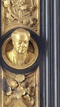 Lorenzo Ghiberti's Self Portrait-The Gates of Paradise - Original-Museo dell'Opera del Duomo, Firenze
