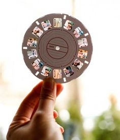 viewmaster wedding invitation. wouldn't this be fun to get in the mail? (would also be cool to send just a fun one to a loved one far away.)