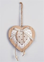49c495d4fee Hanging Heart Decoration (12cm x 5cm x 11cm) View 1 Hanging Hearts