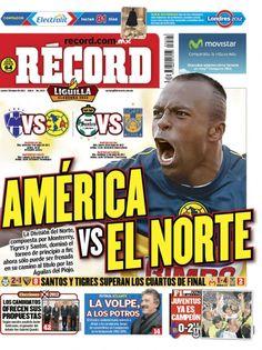 Portada RÉCORD 07-05-2012 | México y Guadalajara