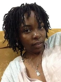 Wondrous These Starter Locs Began With Natural Two Strand Twists Lets Short Hairstyles Gunalazisus