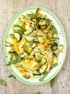 Michela Chiappa's zucchini salad
