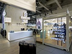 Khujo booth at Panorama Berlin 2016 by Berlin – Germany Design Blog, Store Design, Visual Merchandising, Panorama Berlin, Milk Shop, Branding, Design Furniture, Kiosk, Store Fronts