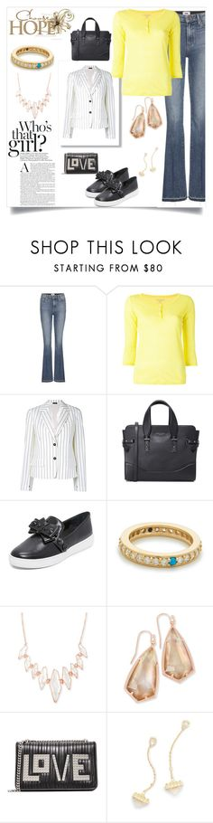"""fashion for all"" by denisee-denisee ❤ liked on Polyvore featuring Paige Denim, Majestic Filatures, Jil Sander, Marc Jacobs, Michael Kors, Fayt Jewelry, Kendra Scott and Les Petits Joueurs"