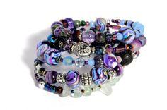 Buddha Light beaded wrap bracelet by artistvisions on Etsy, $33.33