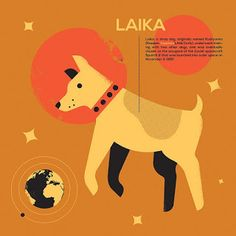 magpie & whiskeyjack: Laika, and Other Dogs in Space