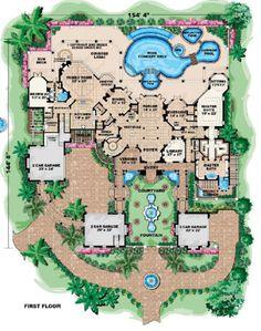 Houseplans.com Main Floor Plan Plan #27-278
