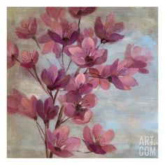 April Blooms II Giclee Print by Silvia Vassileva at Art.com