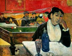 Bild: Paul Gauguin - Nachtcafé in Arles