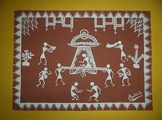 Warli Paintings - Warli Painting  by Ashish Mishra