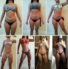 De um corpo normal a um corpo incrível em um curto período de tempo. Em apenas…
