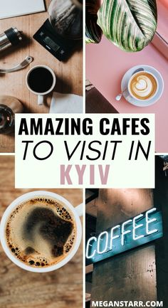 The Best Coffee in Kiev Ukraine (Awesome Europe Travel Tips, Travel Guide, Travel Destinations, Best European City Breaks, Abandoned Castles, Abandoned Mansions, Abandoned Places, Travel To Ukraine, Delicious Destinations