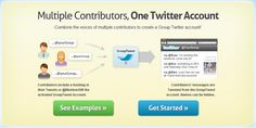 GroupTweet | Combine the voices of multiple contributors to create a Group Twitter account!