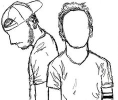 twenty one pilots drawing - Google Search                                                                                                                                                                                 More