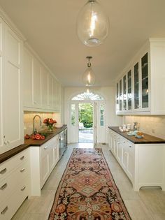 Wonderful Galley Kitchen - Evermay-Georgetown-Residence